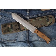 """Survivalist X"" Walnut (AUS-8 Steel)"